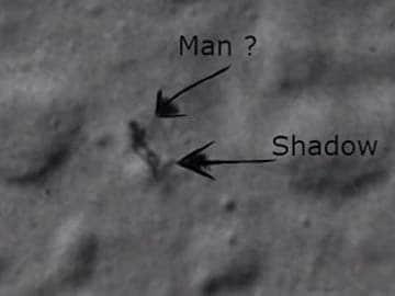 Alien on the Moon is Just Dust: NASA Scientist