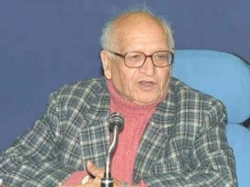 Historian Bipan Chandra Dies At The Age of 86