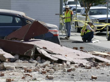 Earthquake is Major Test for Hard-Luck California City