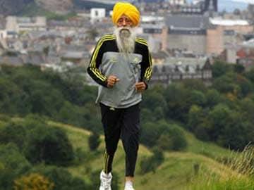 Fauja Singh, 103-Year-Old Marathon Runner, Calls For Peace Run in UK