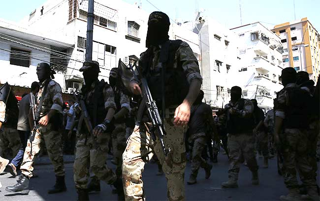 Islamic Jihad Fighters Parade After Gaza War