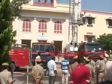 Huge Damage to Property in Fire at Jaipur City Palace