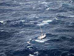 Ship Rescues Three Stranded in Rough Seas off Hawaii
