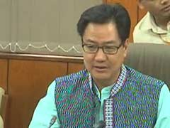 Government Committed to Modernise Central Police Forces: Kiren Rijiju