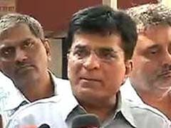 BJP MP Kirit Somaiya Booked For Allegedly Manhandling Policeman