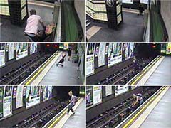 Police Show Images of Child Thrown to Rail Tracks