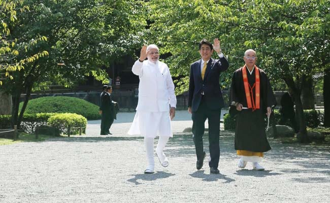 PM Narendra Modi's Day Out in Kyoto, With Varanasi on Mind