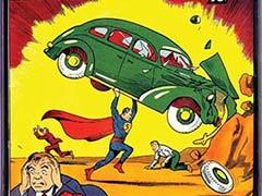 Rare Copy of Superman Comic Book Fetches $3.2 Million