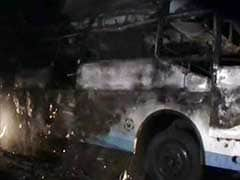 Five Pilgrims Killed After Their Bus Catches Fire in Tamil Nadu