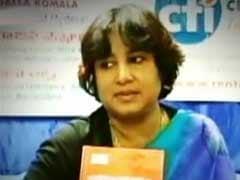 बांग्लादेश में अभिव्यक्ति की स्वतंत्रता नहीं : तसलीमा नसरीन