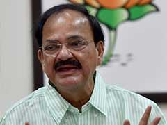 Peace Talks and Terrorism Cannot Go Hand in Hand, Says Venkaiah Naidu