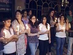 Candle Light Vigils Across Bangalore Demanding Safety for Women