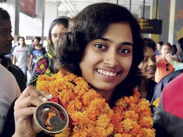 Bronze-Winning Indian Gymnast Dipa Karmakar Toast of Tripura