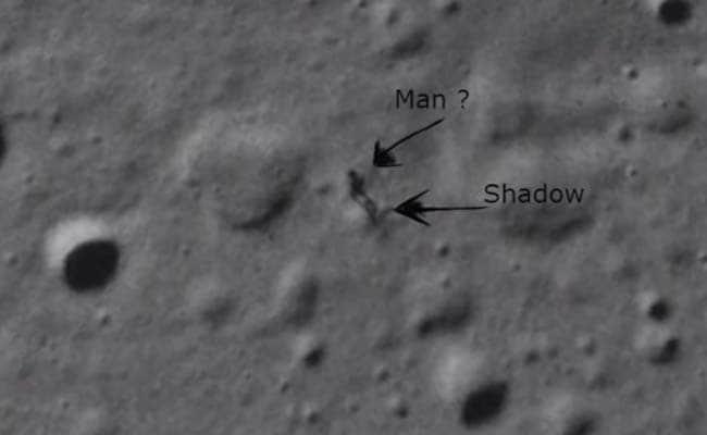 Is the Mysterious Moonwalker in NASA's Lunar Photo an Alien?