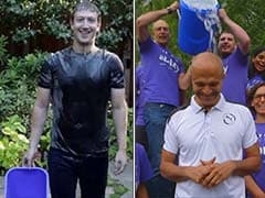 Mark Zuckerberg, Satya Nadella Were Drenched in Ice Water But Are Still Smiling