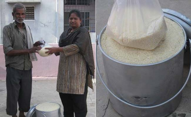 The Rice Bucket Challenge, a New Made-in-India Charity Chain