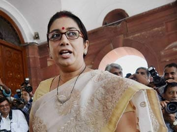 On Yale 'Degree', Smriti Irani Says She Was Misconstrued But Can't Silence Twitter