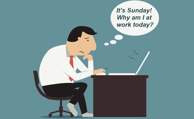 10 things that people who work on sundays will understand