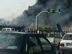 Plane With 40 Aboard Crashes in Iran: Report
