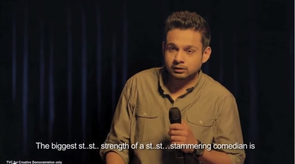 What is Common To Stuttering, Stand-Up Comedy and a Coffee Ad?