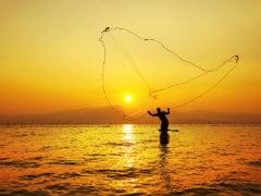 Three Stranded Fishermen Rescued by Navy