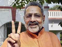 Don't Blame 'Love Jihad' for By-Election Loss: Giriraj Singh