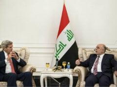 John Kerry, Iraqi PM Haider al-Abadi Embrace Unity to Defeat Insurgency