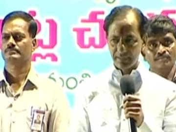KCR Threatens to 'Bury TV Channels', Daughter Kavitha Defends Him