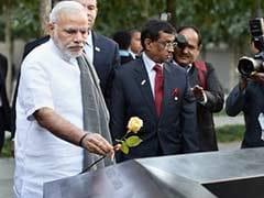 PM Narendra Modi Visits Ground Zero, Pays Tribute to 9/11 Victims