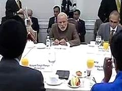 Paneer Ravioli, Pomegranate Sangria and... Investments: PM Modi's Menu for US CEOs