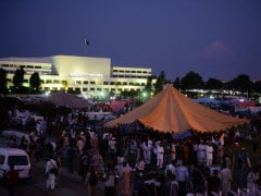 Heated Exchanges in Pakistan Parliament; Protesters Agree to Talks