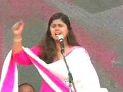 As Gopinath Munde's Daughter Finishes Yatra, People Ask Why She Isn't Chief Ministerial Candidate