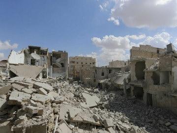 Bashar al-Assad Steps Up Bombing as West Strikes Militants in Syria