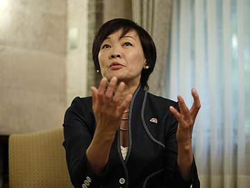 Japan's First Lady Speaks Out on Sales Tax, Nuclear Power