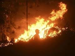 Wildfire in California's Sierra Nevada Threatens 2,000 Houses
