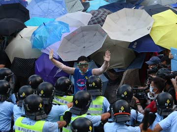 The 'Umbrella Revolution' Takes Hold in Hong Kong