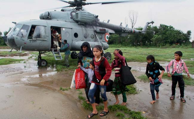 J&K Floods: Air Force, Army Intensify Rescue Efforts as Thousands Wait for Help
