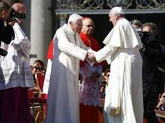 Two Popes Attend Gathering of Wise and Wrinkled at the Vatican