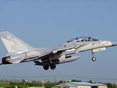 Fighter Jets land on Taiwan Highway in 'China Attack' War Games