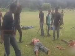 On Camera, Villagers Beaten Mercilessly As 'Lesson' For Being Informers