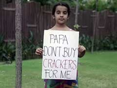 'Papa Don't Buy Crackers for Me': Making Diwali Even More Special
