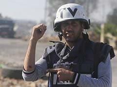 Rubber Bullets Hit Media Crew Near Israel Border