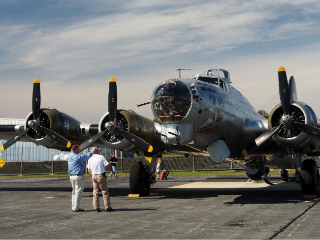World War II Memories Take Flight in Surviving B-17 Bombers