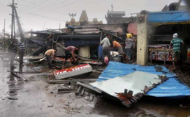 559 Odisha Personnel to Undertake Relief Operations in Cyclone-Hit Andhra Pradesh