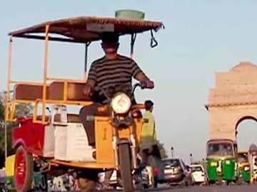 Government Allows E-Rickshaws to Ply on Delhi Roads