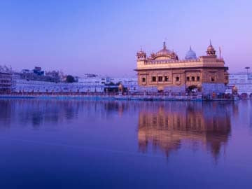 Parkash Singh Badal Dedicates 'Golden Temple Entrance Plaza' to Public