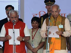 Manohar Lal Khattar Takes Oath as Haryana Chief Minister, PM Modi Present for Swearing-In