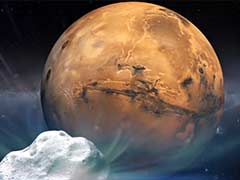 All Robotic Eyes on Comet for Mars Flyby