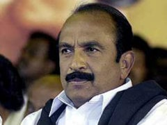 BJP Government Openly Aiding Colombo, Alleges MDMK Chief Vaiko