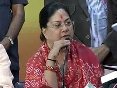In Rajasthan, Vasundhara Raje Inducts 14 Ministers in her Cabinet